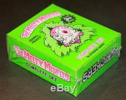 2018 The Melty Misfits 3rd Series Complete Box Set Cards Like Garbage Pail Kids