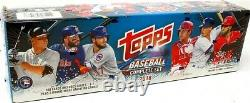 2018 Topps Complete Baseball Factory Set Retail Box Blowout Cards