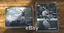 2018 and 2019 Topps on Demand Black and White Complete Base Baseball Card Sets