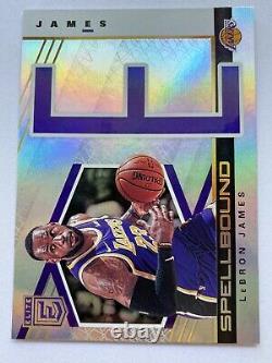 2019-20 Donruss Elite Basketball LEBRON JAMES Spellbound Complete Insert Set