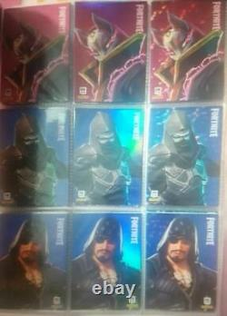 2019 Fortnite 700 Cards Series One 1 complete full panini crystal black knight