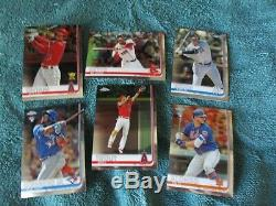 2019 Topps Chrome MASTER SET Complete 204 Cards 75 Card Sub Sets 279 Total