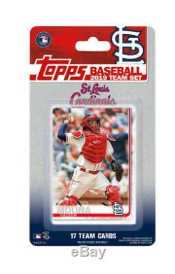2019 Topps Complete Run 30 Team Factory Sealed 17 Card Sets Red Sox Yankees etc
