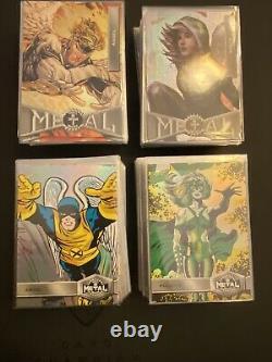 2020 2021 Upper Deck Marvel Metal X-men Universe Complete 200 Card High/low Set