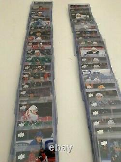 2020-21 UD Young Guns Series 1 Near Complete Set - NO Lafrenière (49 cards)