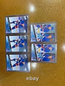 2020-21 Upper Deck Series 1 Young Guns Complete Set 201-250 Lafreniere YG RC LOT