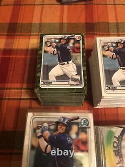 2020 Bowman Complete Master 765 Card Set Paper + Chrome + 5 Insert Sets + Camo