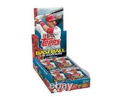 2020 Topps UK Baseball Complete 200-card Set (Presale)- Luis Robert, Tatis RC
