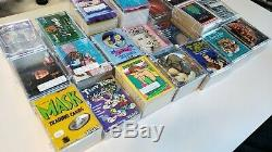21 COMPLETE trading card sets. Thousands of cards, meticulously organized. 007