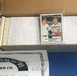 (2) 1976 SSPC Vintage Baseball Complete 630 Card Sets