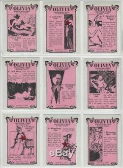 3 Original Olivia Complete Collector Card Sets 1992-93-94 Chromium & Prism