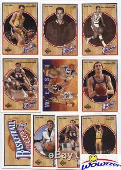 (50) 1992 Upper Deck Jerry West HEROES Complete 10 Card Sets-500 Cards MINT $500