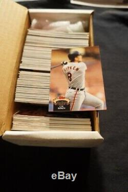 54 Total Complete Baseball Card Sets 80s-90s Boom Time! All the Stars-Deal LO sh