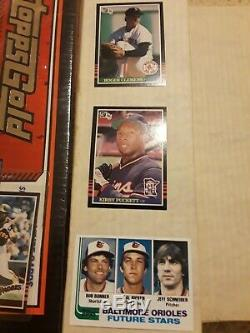 (7) Baseball Complete Sets 1981, 1982, 1986, 1987, 1992 (Gold) + 1985 Donruss