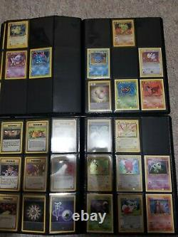 7 Near Complete ORIGINAL Pokemon Card Sets, 1st Editions, Holos