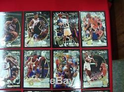 92-93 Fleer Total D Complete 15 Card Insert Set Jordan Rodman Pippen Ewing Nice