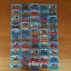 Amiibo card Animal Crossing all 50 complete set