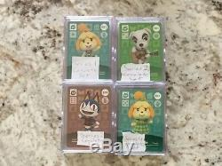 Animal Crossing Amiibo Card Series 1-4 Complete SETS #001-400 In Mint Condition