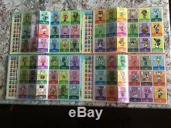 Animal Crossing Amiibo Cards Complete Sets Series 1-4 #001-400 US w Rare Albums