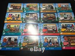 Animal Crossing New Leaf Welcome Amiibo 50 Cards COMPLETE SET Lot Series 5