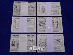 Antique Liebig Cards x 18 Complete Sets 1887-1899 Table/Menu card set etc