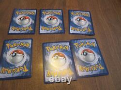 Ashs Pikachu I Choose You Movie Promo Set Of 6 Cards COMPLETE SM109-114 POKEMON