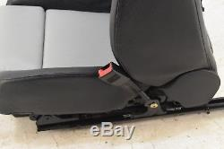 Audi A4 S4 RS4 8E B6 B7 RECARO Black+White Leather Complete Interior Set Seats