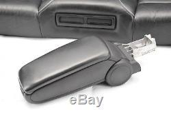 Audi RS6 C5 4B RECARO Black Leather Complete Interior Set Seats Electric Heated