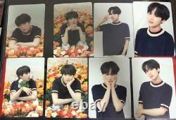 BTS SUGA LYS LOVE YOURSELF JAPAN Official Photo Card Complete set