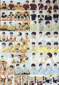 BTS World Tour Love Yourself Official MINI PHOTO CARD Full set 64 Complete K-POP