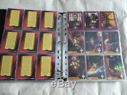 Babylon 5- Season 4- 81 Card Set + Parallel + Binder +chase Card Sets Complete