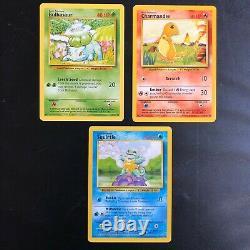 Base Set 1999 WOTC 100% Complete Set! Pokemon Cards NM