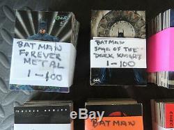 Batman Trading Card Collection 10 Complete Sets Holy Bat Cards Batman