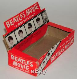 Beatles rare vintage'AHDN' Trading cards box, complete set of cards & wrapper