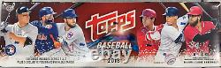Brand New, Sealed 2018 Topps Baseball Cards Complete Set 705 Cards Series 1 & 2