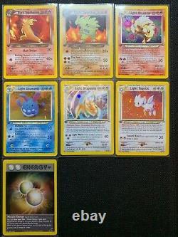 Complete 105/105 1st Edition Neo Destiny Pokemon Card Set