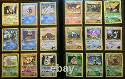 Complete 132/132 1st Edition Gym Heroes Pokemon Card Set Moltres Gengar
