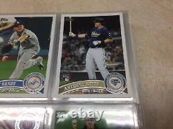 Complete 2011 Topps Sets Ser1&2+Update Complete Set WithMike Trout RC Update Set