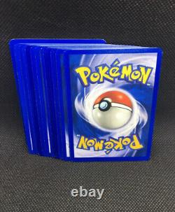 Complete Base Set Commons And Uncommons NM-Mint Vintage Pokemon Cards
