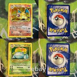 Complete Base Set Pokemon Card Collection 102/102 Original Charizard