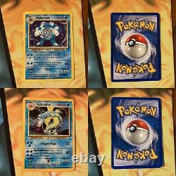 Complete Base Set Pokemon Card Collection 96/102 Original Venusaur Holo Rare