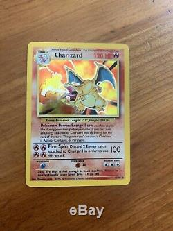 Complete Base Set Pokemon Cards (102/102) CHARIZARD INCLUDED EXC / NEAR MINT
