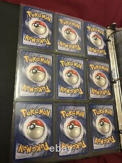 Complete Base Set Vintage Pokemon Cards WOTC Inc. Charizard 4/102 Holo Rare