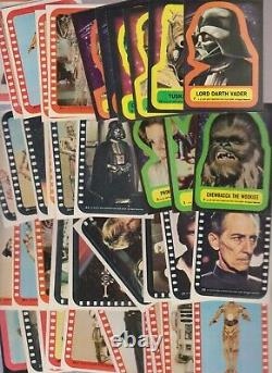 Complete Card Sets from Star Wars, Empire Strikes Back and Return of the Jedi