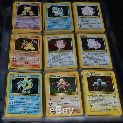 Complete Full Original Base Set 2 All # 130/130 Pokemon Trading Cards TCG Game