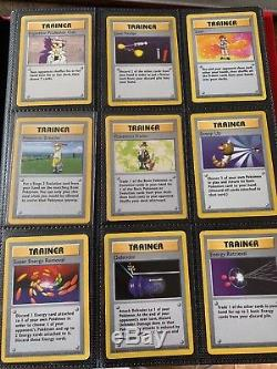 Complete Full Shadowless Base Set All # 102/102 Pokemon Cards 10 1st Edition