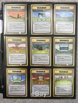 Complete Lucky Stadium Set Japanese Promo Pokemon CARDS RARE INTRO