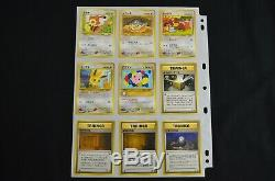 Complete Neo Discovery Set Japanese 2000 56/56 Pokemon Card Free Tracking