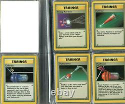 Complete Pokemon Card Uncommon/Common Base Set EXC/NM (70 Cards)