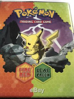 Complete Set 2004 Ex Fire Red Leaf Green Pokemkon Cards 116/116